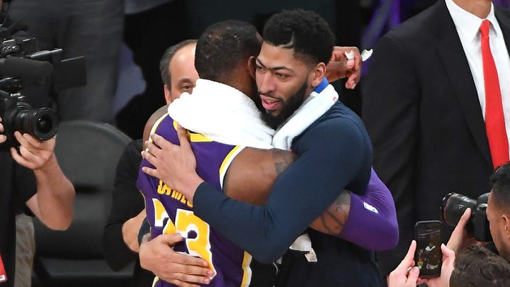 Anthony Davis and LeBron James will be teammates in Los Angeles after all.