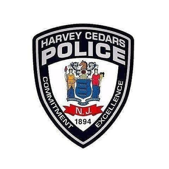 Harvey Cedars police shield