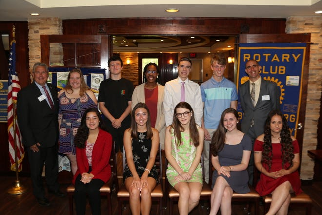 To encourage the advancement of their educational endeavors and to honor the efforts of talented students the Rotary Club of Branchburg has awarded 11 scholarships to well deserving students heading to college in September 2019.