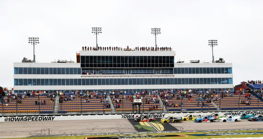 Iowa Speedway annually hosts two Xfinity Series races and one Gander Outdoors Truck Series race. Those have been canceled.