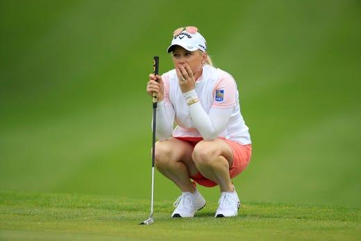 Brooke Henderson wins Meijer LPGA Classic, sets Canadian record