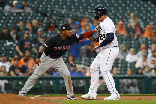 Detroit Tigers strike out 15 times in 4-2 loss to Indians