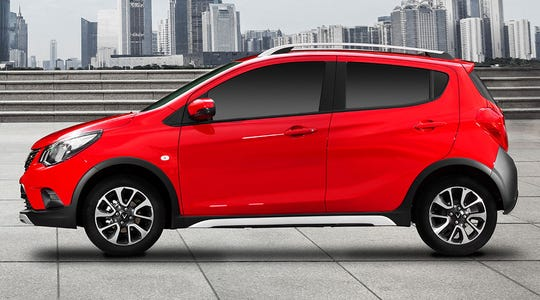 The first VinFast rollout, a hatchback named Fadil, is initially priced at $16,900.
