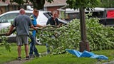 Beech Grove was hit with an EF 1 tornado. The community came together to clean up.