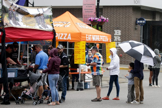 Scenes from the 38th annual Taste of Tippecanoe, Saturday, June 15, 2019 in downtown Lafayette.