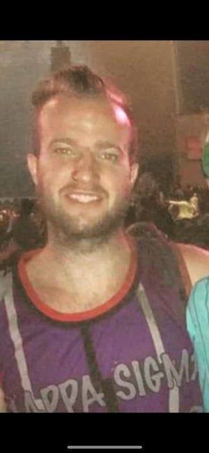 Evan Hollkamp was last seen Friday at 2 p.m. in Borden, Indiana.