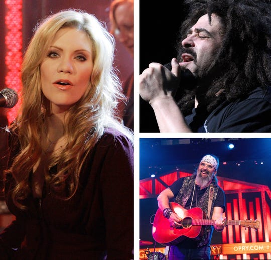 Steve Earle (bottom right) is performing at Summerfest June 27 opposite Alison Krauss and Counting Crows.