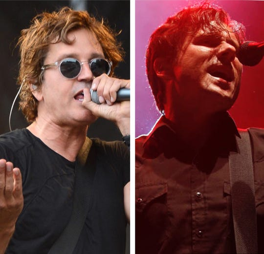 Third Eye Blind (left) and Jimmy Eat World are co-headlining a summer tour, but at Summerfest June 29, they're playing opposite each other.