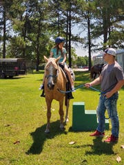 Horseback riding will be available at the Montgomery Zoo during its summer camp.