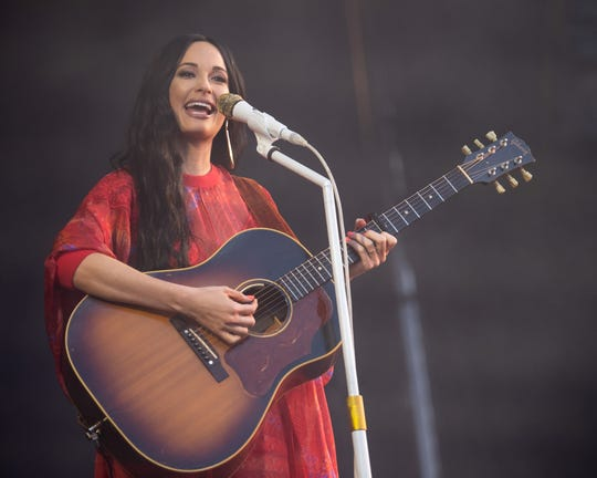 Kacey Musgraves performs at the Bonnaroo Music and Arts Festival in Manchester, Tenn., Saturday, June 15, 2019.