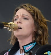 Brandi Carlile performs on Sunday, June 16, 2019 during the Bonnaroo Music and Arts Festival in Manchester, Tenn.