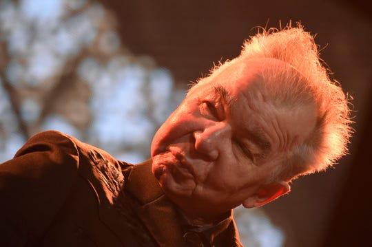 John Prine performs June 15, 2019, during the Bonnaroo Music & Arts Festival in Manchester, Tenn.