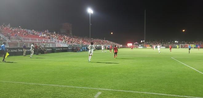 Phoenix Rising FC defeat Orange County SC, 3-0 on Saturday, June 15, 2019.