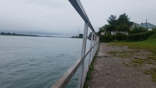 Mermaid Park, located along the St. Clair River, is the subject of an agreement between the city of Marysville and Enbridge Energy to help fund improvements to the popular fishermen destination.
