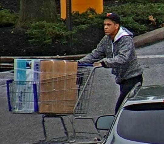 Springettsbury Township Police are asking for help in identifying this man, suspected of theft at the Lowe's June 10 and 11.