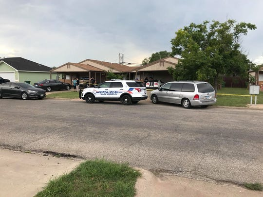 San Angelo Police are investigating a shooting in the 2400 block of Junius Street on June 16, 2019.