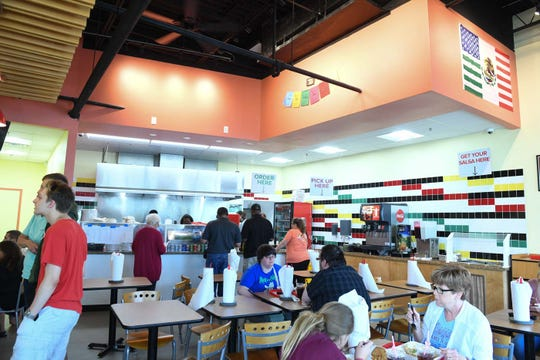 Inside Taco Bliss now open in Salisbury, Md.