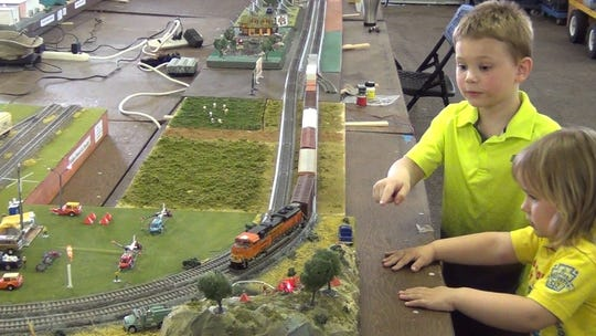 The model train train show will be from 9 a.m.-4 p.m. Saturday, June 22, at the North Florida Fairgrounds.