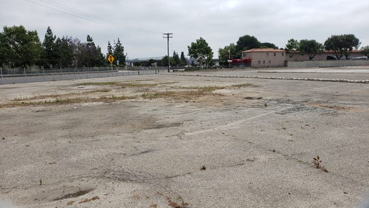 The Stock Building Supply store has been demolished at 2800 Barry St. in Camarillo to make way for about 60 units of affordable housing. The demolition occurred in spring.