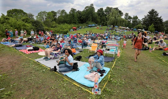 Thousands attended the Clearwater Festival at Croton Point Park June 16, 2019. The annual two-day festival included musicians, performers, arts and crafts, food, and environmental education. This year's festival celebrated the 100th anniversary of the birth of the late Pete Seeger.