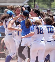 Ardsley defeated Ichabod Crane in the state softball semifinal at Moreau Recreational Park in Glens Falls, New York June 15,  2019.