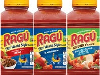 Check your cabinets: Some Ragu pasta sauces recalled, may contain fragments of plastic