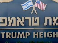 Israel names a small settlement after President Trump