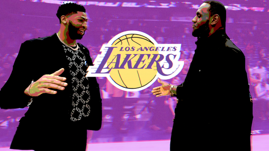 How Magic Johnson, LaVar Ball and others reacted to Lakers' blockbuster Anthony Davis trade