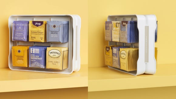 This container makes a great gift for tea lovers.
