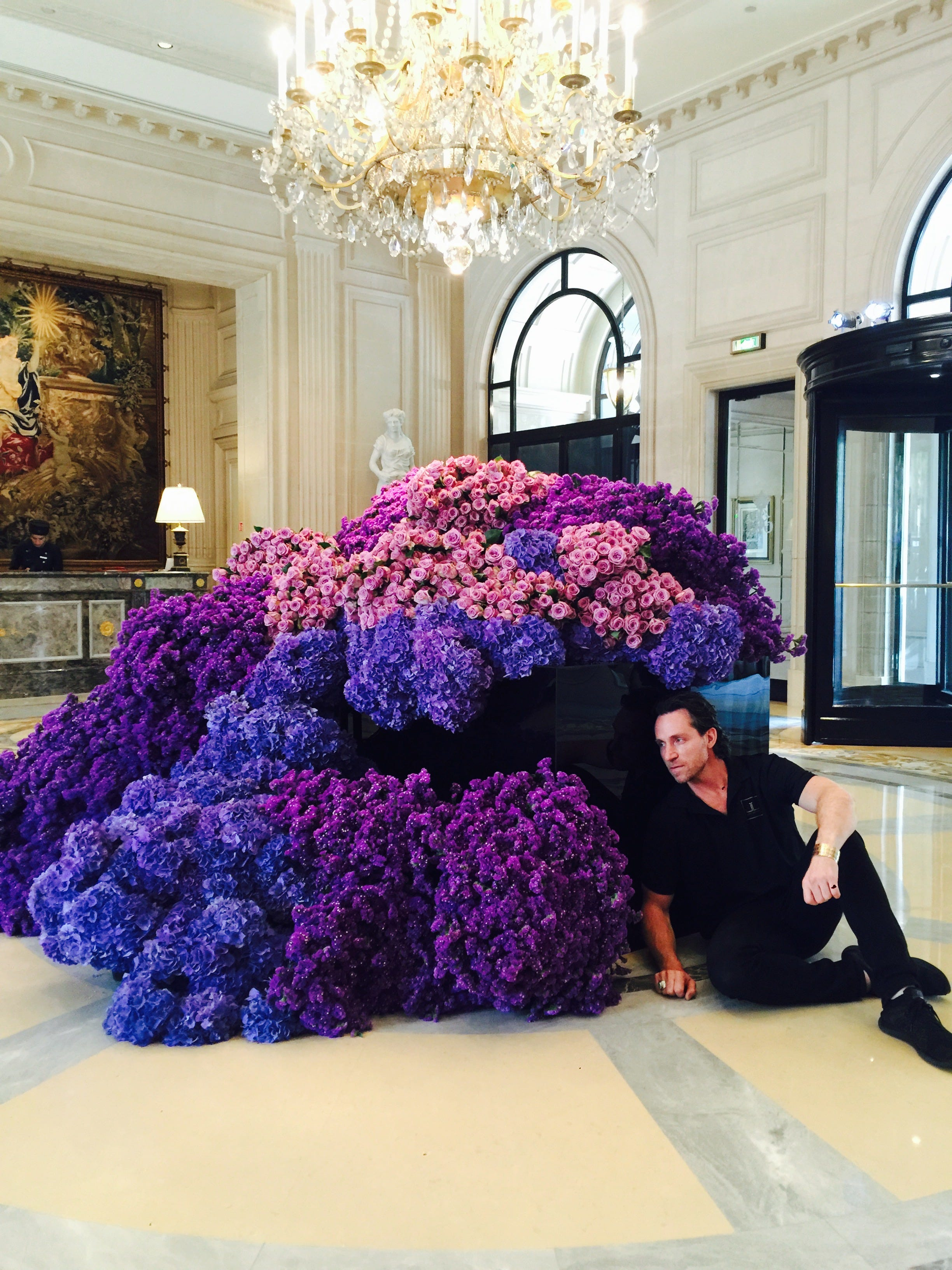 How Jeff Leatham Became A Floral Designer To Stars And Four Seasons