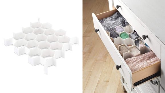 This organizer can help you keep track of socks.