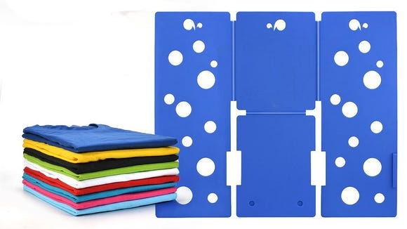 Still hate folding clothes? You need this folding board.