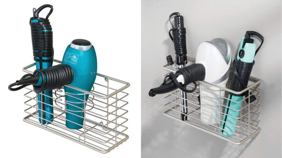 This is a great option for storing hair dryers, straighteners, and more.