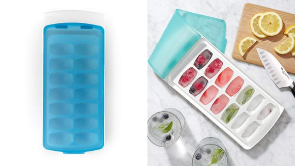 This ice cube tray is perfectly stackable, practical, and awesome.