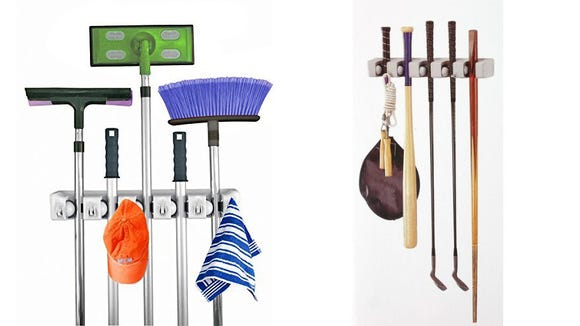 The smarter way to store brooms and mops? We think so.