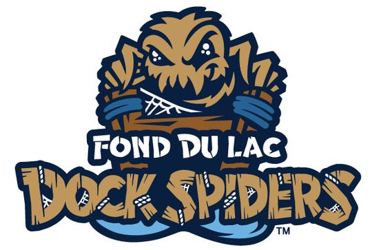 The Fond du Lac Dock Spiders made their debut last year. The logo was created by San Diego-based Brandiose.