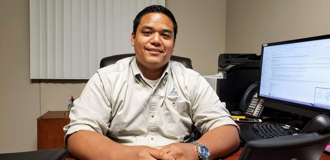 Vincent Cantu, Abilene's emergency management coordinator.