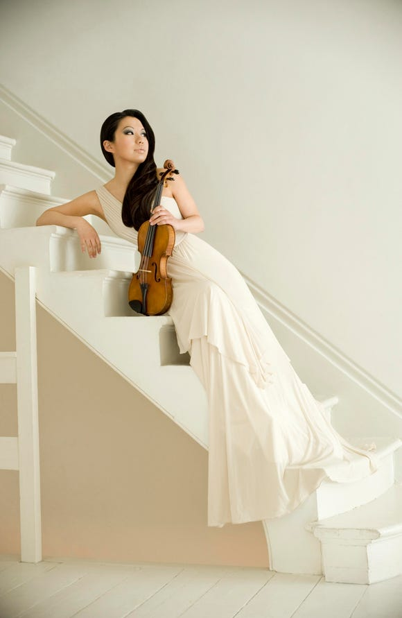 Sarah Chang opens the Olympic Music Festival with violin recitals July 13 and 14.