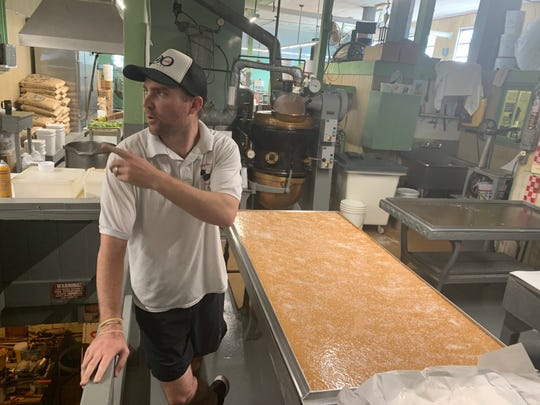 Douglass Candies owner Jason Dougan is the great-great nephew of founder Charles Douglass, who launched the Wildwood business in 1919.