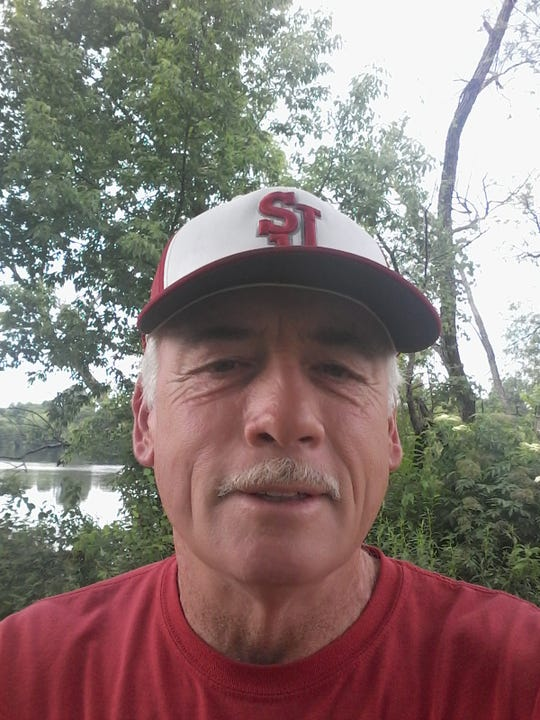 St. Joseph softball coach Les Olson