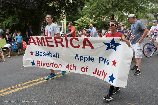 Riverton holds an all-American parade and other patriotic festivities every Fourth of July.