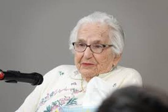 """Holocaust survivor Lois Flamholz will share her harrowing story of survival at 2 p.m. on June 23 at Old Bridge Public Library. Flamholz, 91, will discuss her horrific tale of cattle cars, work camps, Auschwitz, and a face-to-face encounter with Dr. Josef Mengele, the Nazis' """"angel of death."""""""