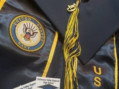 Delaware Valley Regional High School bans military sashes at graduation