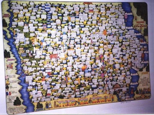 """""""This is Iowa"""" by Carolyn Blattel-Britton"""