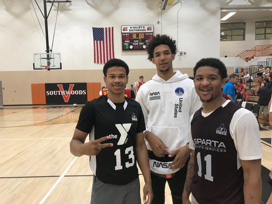 Iowa State basketball's future and present, from left: Rasir Bolton, George Conditt and Prentiss Nixon