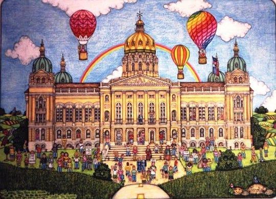 """""""Iowa Capital"""" by Carolyn Blattel-Britton"""