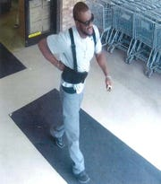 The alleged suspect in two Waterford Township robberies.
