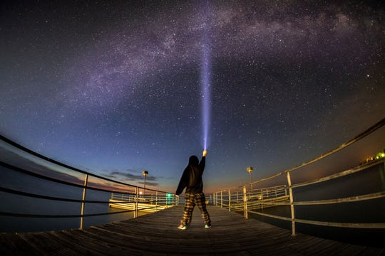 """""""Selfie with the Stars,"""" by Chase Gagnon of Madison Heights."""