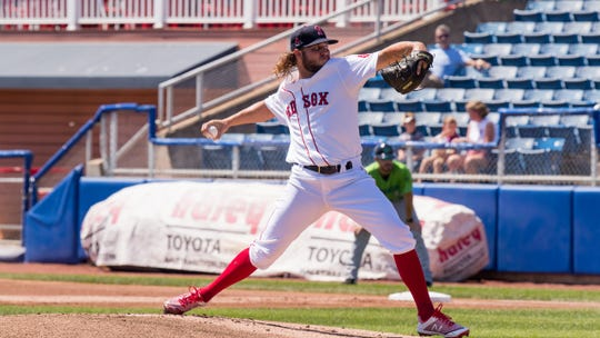 Salem Red Sox pitcher Kutter Crawford out of FGCU was selected for the 2019 Carolina League All-Star Game.