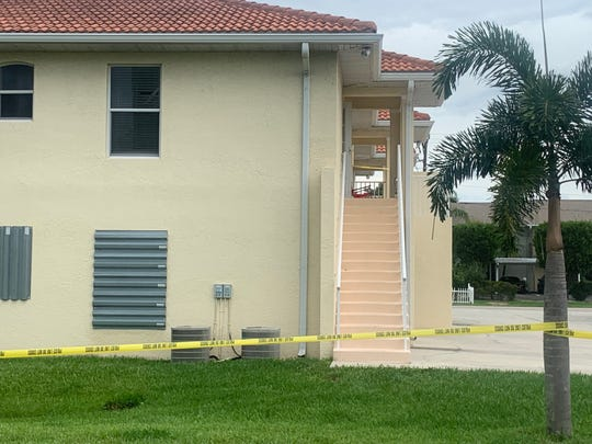 A woman who Cape Coral police found dead at this apartment complex on SW 47th Terrace when they checked on an open 911 call knew her suspected assailant and just over a month ago told them she had been tied up and choked by him, police said Monday.